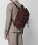 dark barolo hi-tech canvas sassolungo backpack Front Detail Portrait