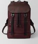 dark barolo hi-tech canvas sassolungo backpack Front Portrait