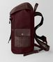 BOTTEGA VENETA DARK BAROLO HI-TECH CANVAS SASSOLUNGO BACKPACK Backpack Man rp