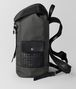 BOTTEGA VENETA LIGHT GREY HI-TECH CANVAS SASSOLUNGO BACKPACK Backpack Man rp