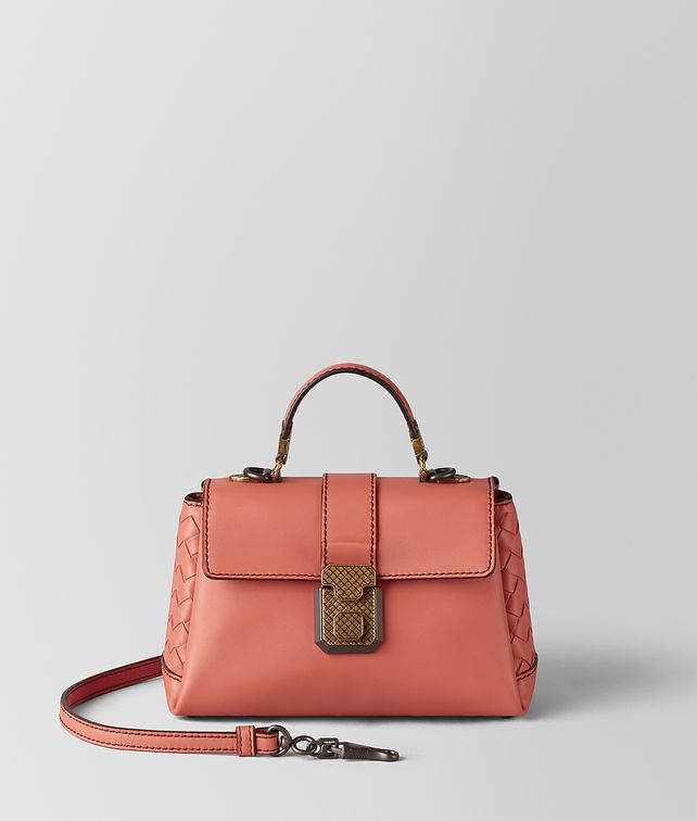 BOTTEGA VENETA HIBISCUS CALF PIAZZA BAG Top Handle Bag [*** pickupInStoreShipping_info ***] fp