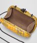 BOTTEGA VENETA SUNSET INTRECCIATO IMPERATRICE CHAIN KNOT Clutch Woman dp