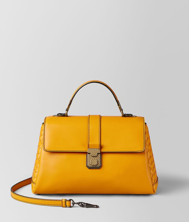 BOTTEGA VENETA SUNSET CALF PIAZZA BAG Top Handle Bag [*** pickupInStoreShipping_info ***] fp