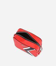 KARL LAGERFELD K/Stripes Leather Camera Bag 9_f