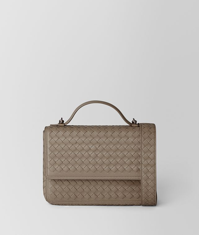 BOTTEGA VENETA LIMESTONE INTRECCIATO NAPPA ALUMNA BAG Crossbody and Belt Bags [*** pickupInStoreShipping_info ***] fp