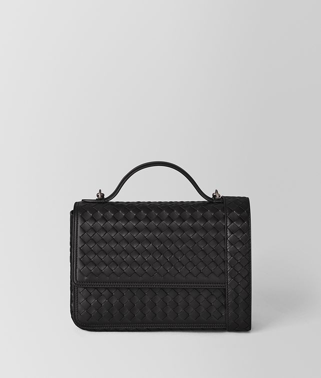 BOTTEGA VENETA NERO INTRECCIATO NAPPA ALUMNA BAG Crossbody bag [*** pickupInStoreShipping_info ***] fp
