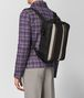BOTTEGA VENETA NERO NAPPA/PRECIOUS MIX STRADE BRICK BACKPACK Backpack Man ap