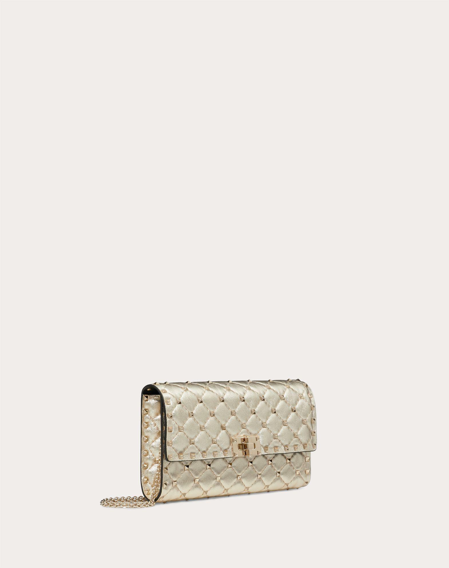 VALENTINO GARAVANI Rockstud Spike Chain Bag  Shoulder bag D r