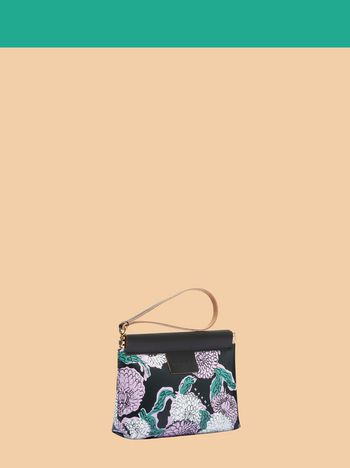 Marni MARNI MARKET small PVC clutch with floral pattern Man