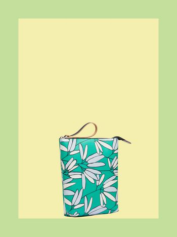 Marni MARNI MARKET clutch in floral PVC Man