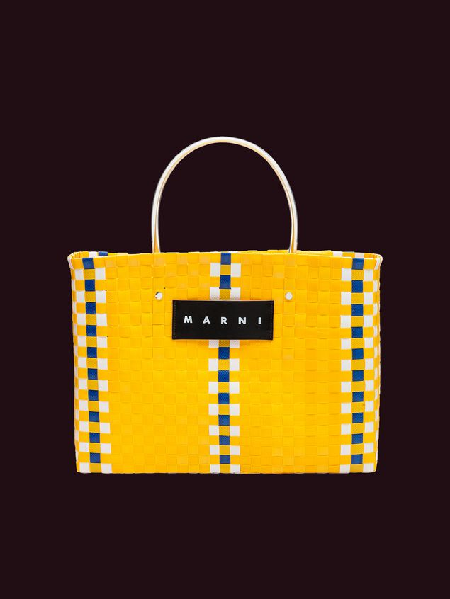 e5346c0a26 Yellow Woven MARNI MARKET Tote Bag from the Marni Spring/Summer 2019 ...