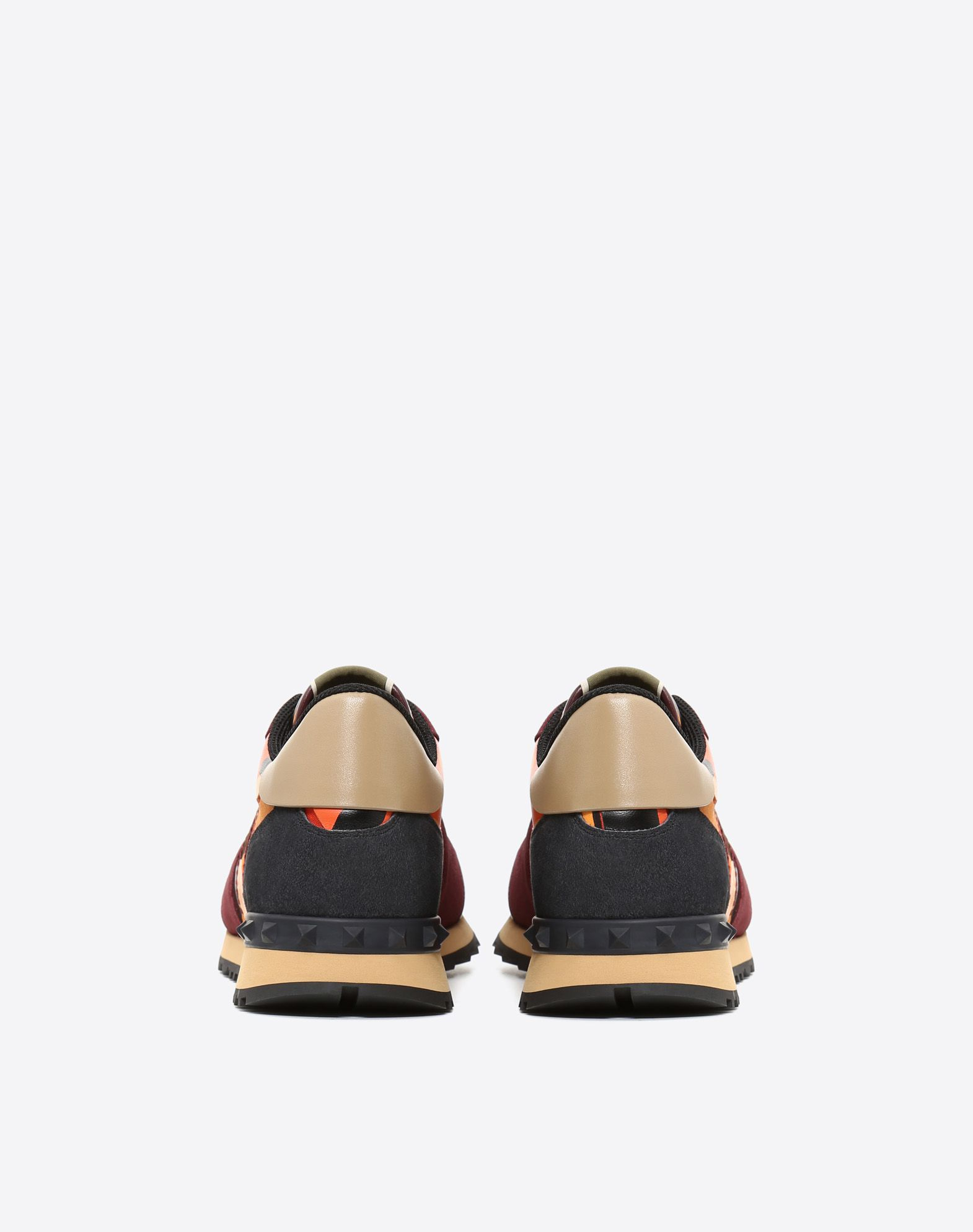 VALENTINO GARAVANI UOMO 迷彩 Rockrunner 运动鞋  LOW-TOP SNEAKERS U d