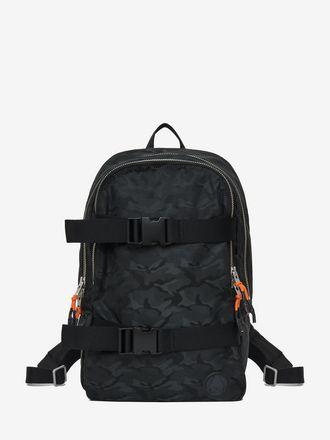 Camouflage Skater Clip Backpack