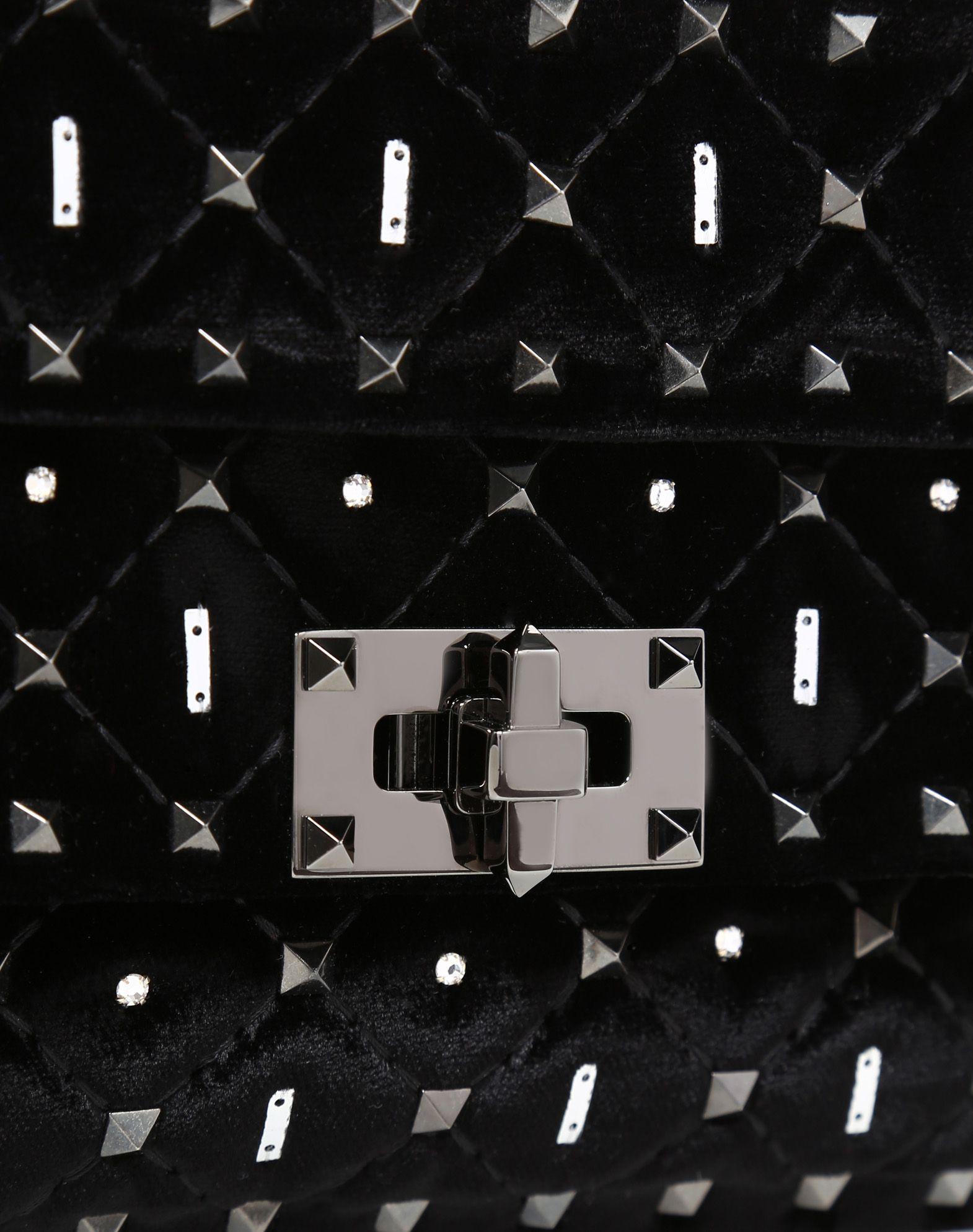 VALENTINO GARAVANI Small Rockstud Spike.It Chain Bag  Shoulder bag D b