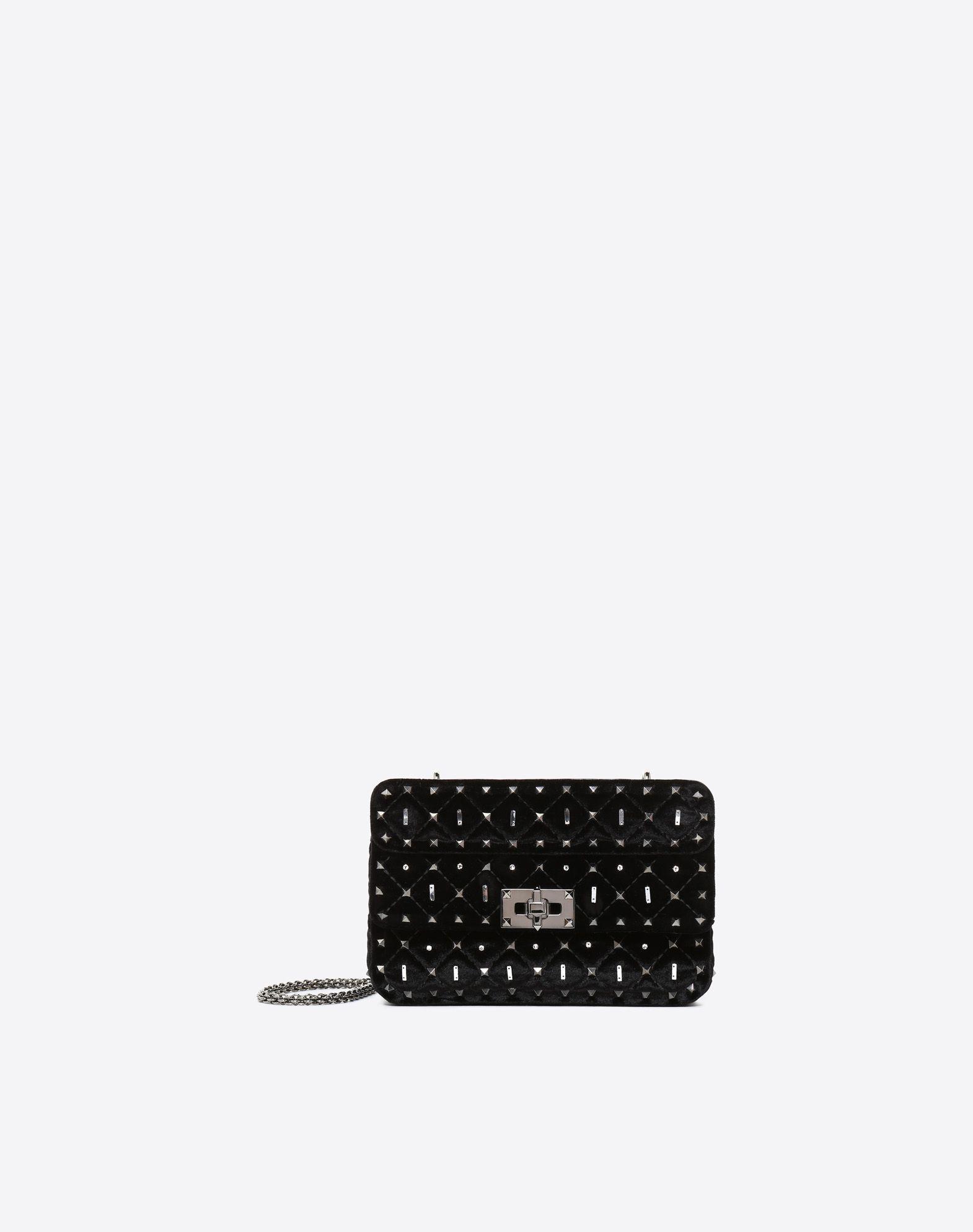 VALENTINO GARAVANI Small Rockstud Spike.It Chain Bag  Shoulder bag D f