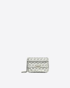VALENTINO GARAVANI Shoulder bag D Small Rockstud Spike Chain Bag  f