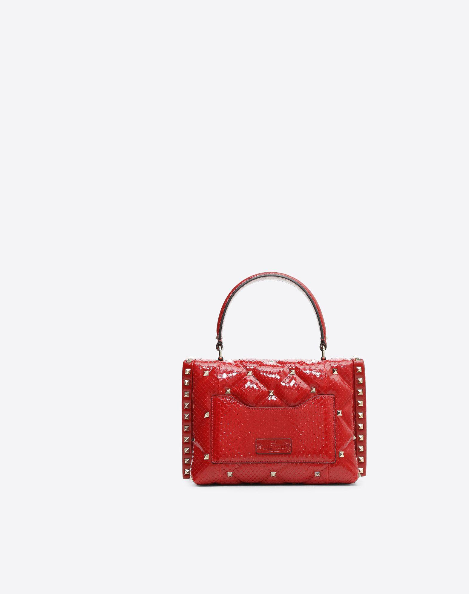 VALENTINO GARAVANI Candystud Top Handle Bag HANDBAG D d
