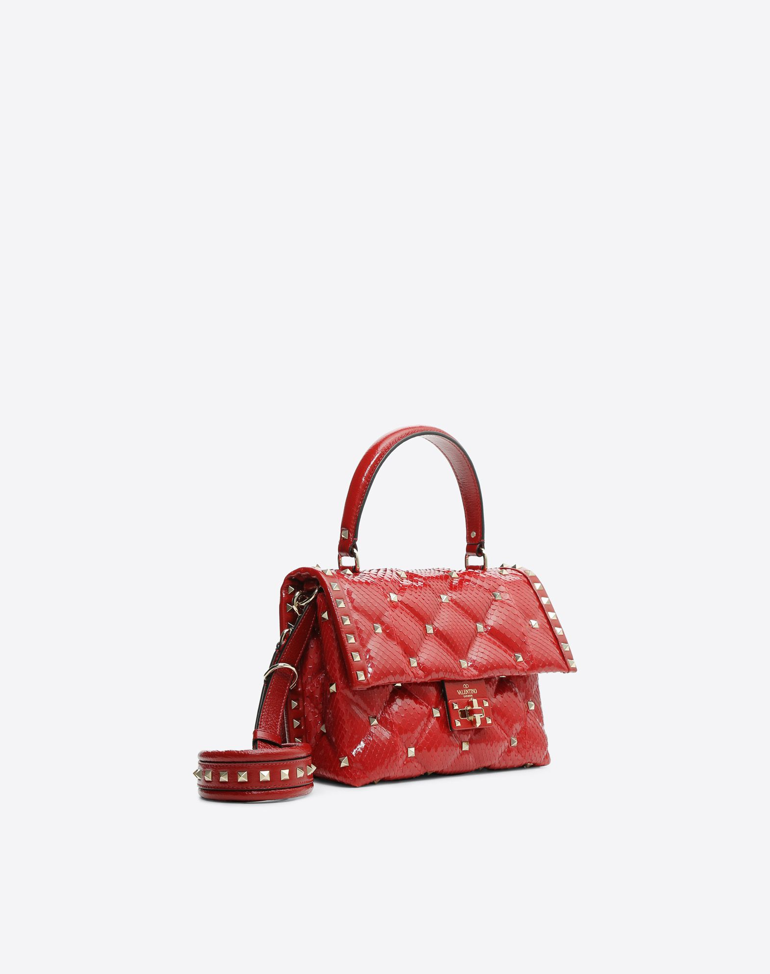 VALENTINO GARAVANI Candystud Top Handle Bag HANDBAG D r