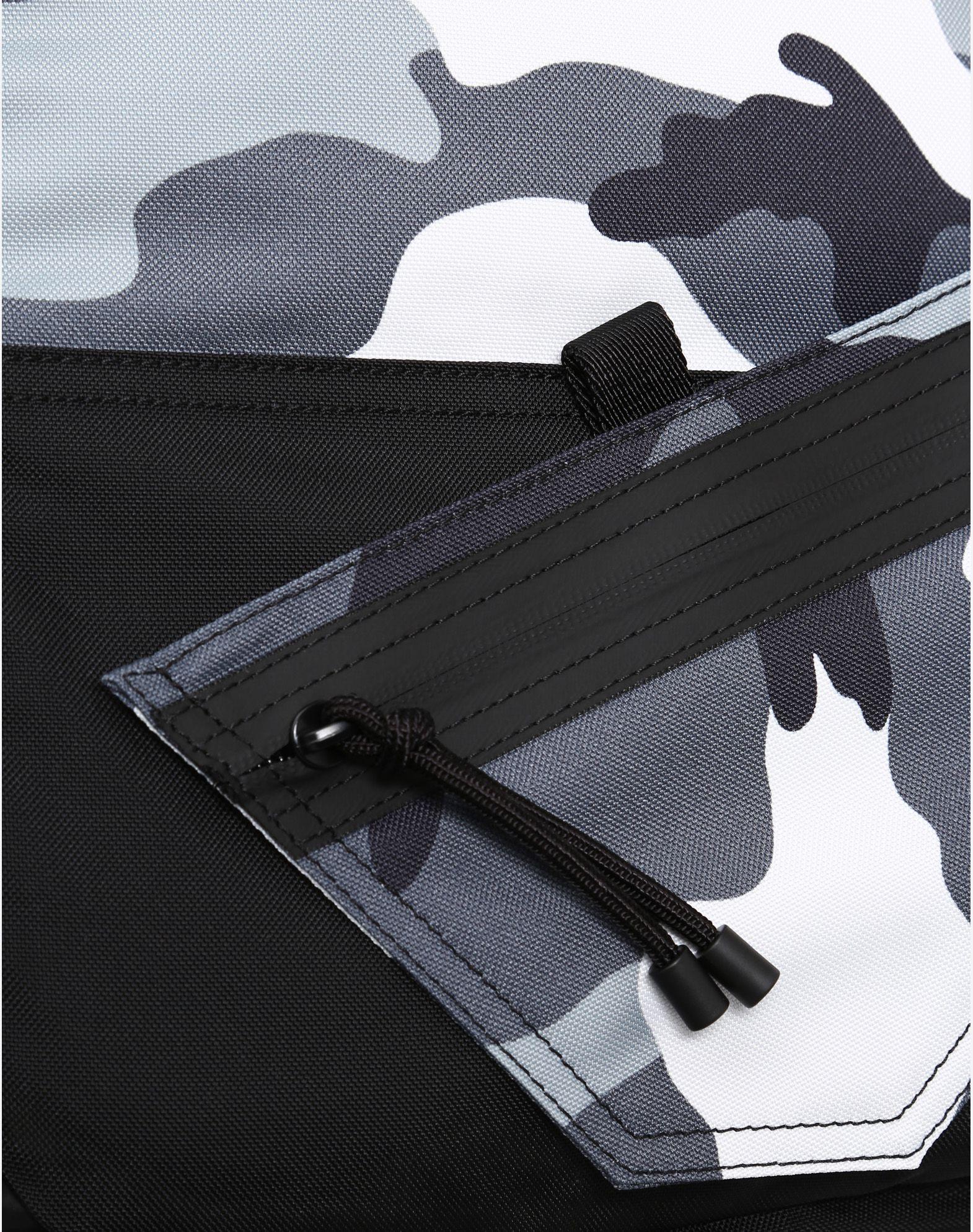 VALENTINO GARAVANI UOMO Camouflage rucksack Backpack U b