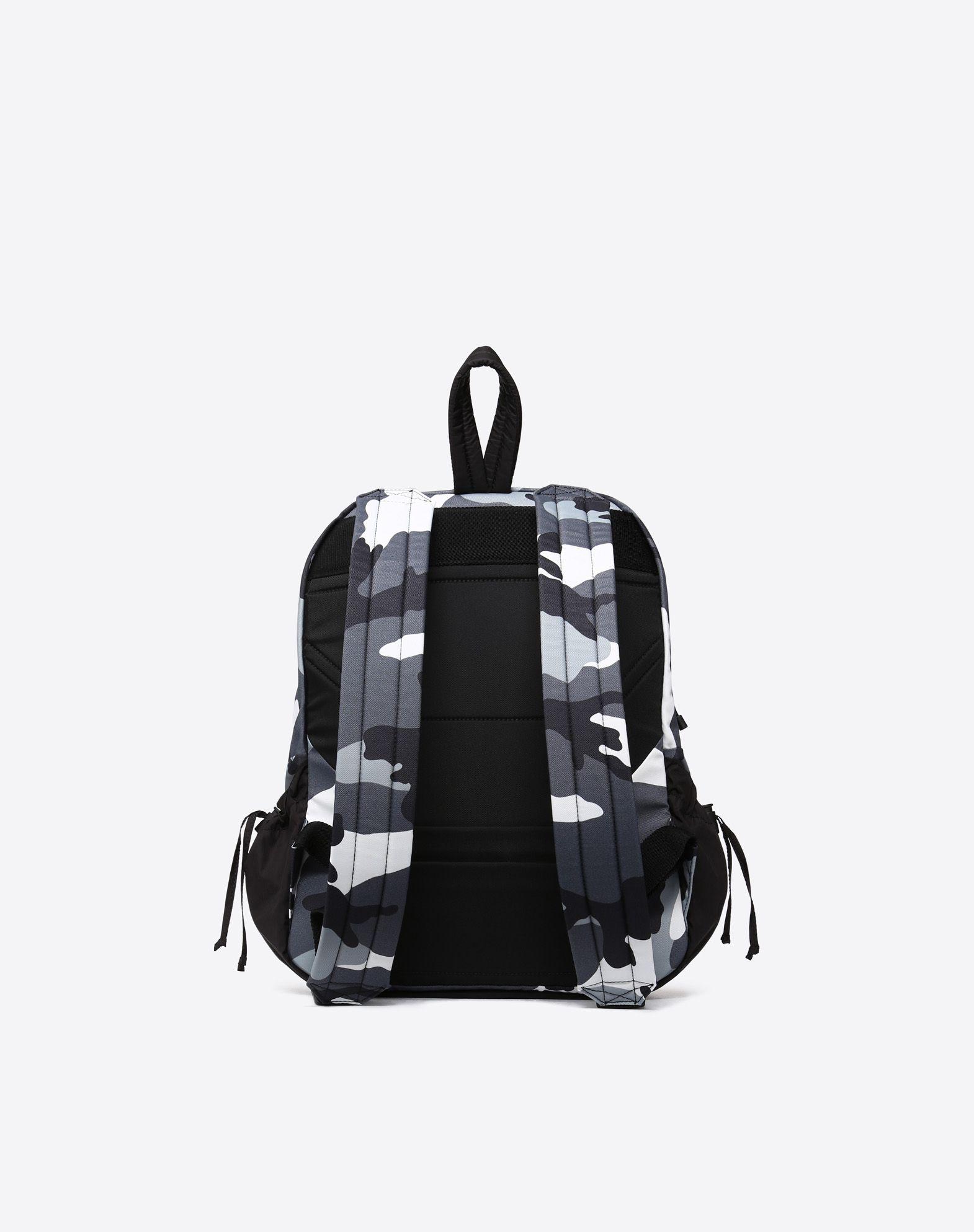 VALENTINO GARAVANI UOMO Camouflage rucksack Backpack U d