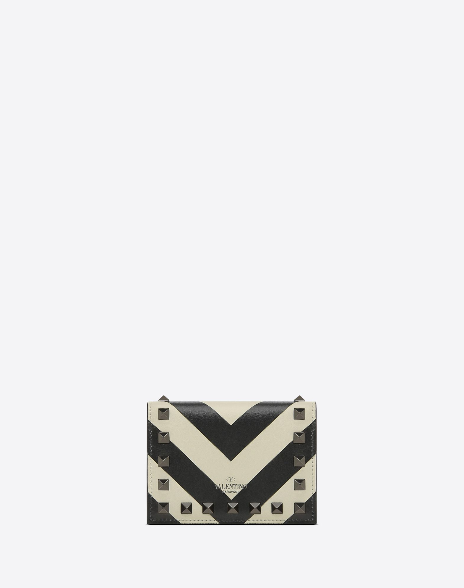 VALENTINO GARAVANI Rockstud Small Wallet COIN PURSES & CARD CASES D d