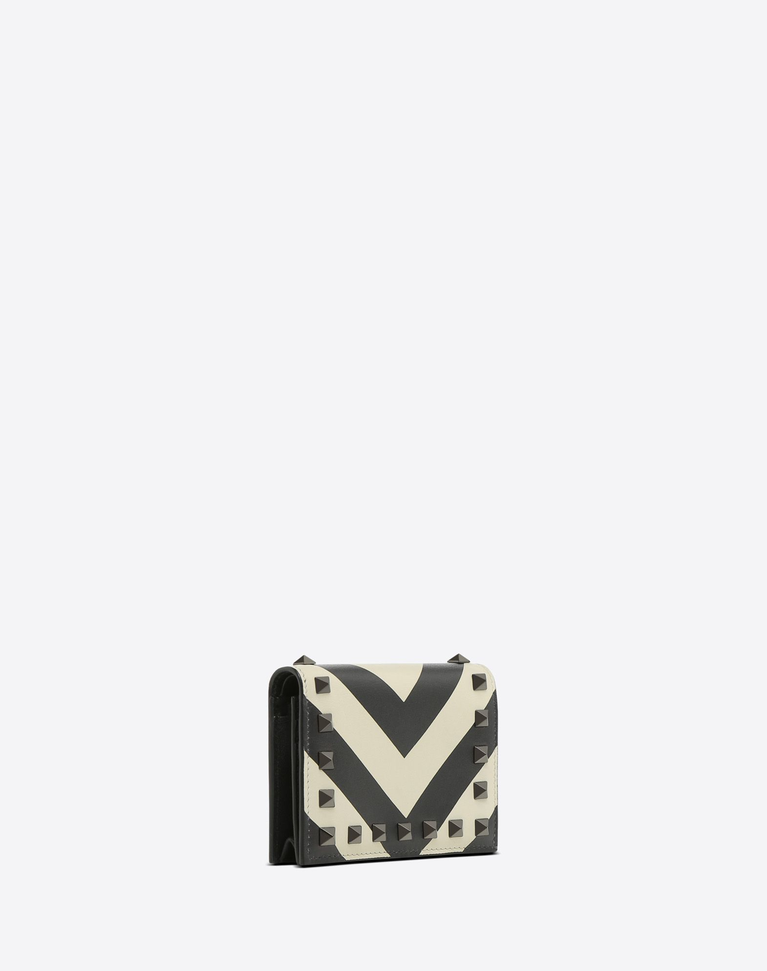 VALENTINO GARAVANI Rockstud Small Wallet COIN PURSES & CARD CASES D r