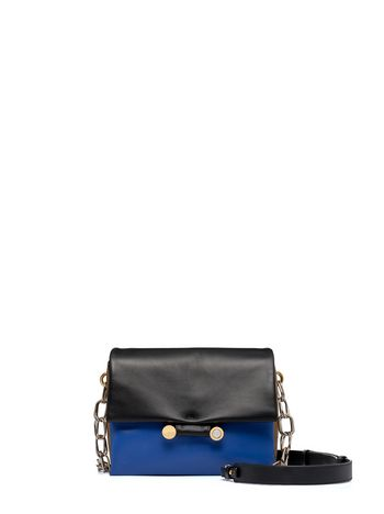 Marni Matte nappa leather CADDY horizontal shoulder bag Woman