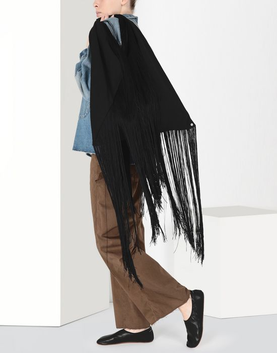 MM6 MAISON MARGIELA Japanese tote bag with fringes Handbag [*** pickupInStoreShipping_info ***] b