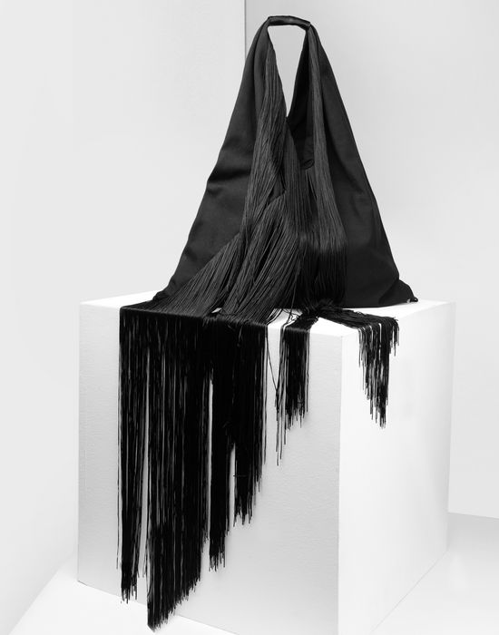 MM6 MAISON MARGIELA Japanese tote bag with fringes Handbag [*** pickupInStoreShipping_info ***] r