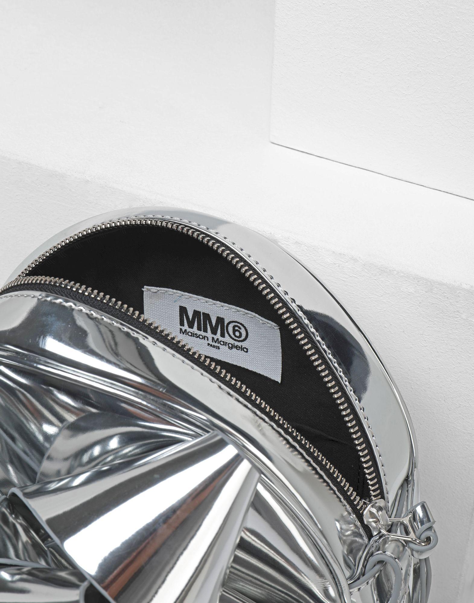 MM6 MAISON MARGIELA Metallic gift bow shoulder bag Shoulder bag Woman d