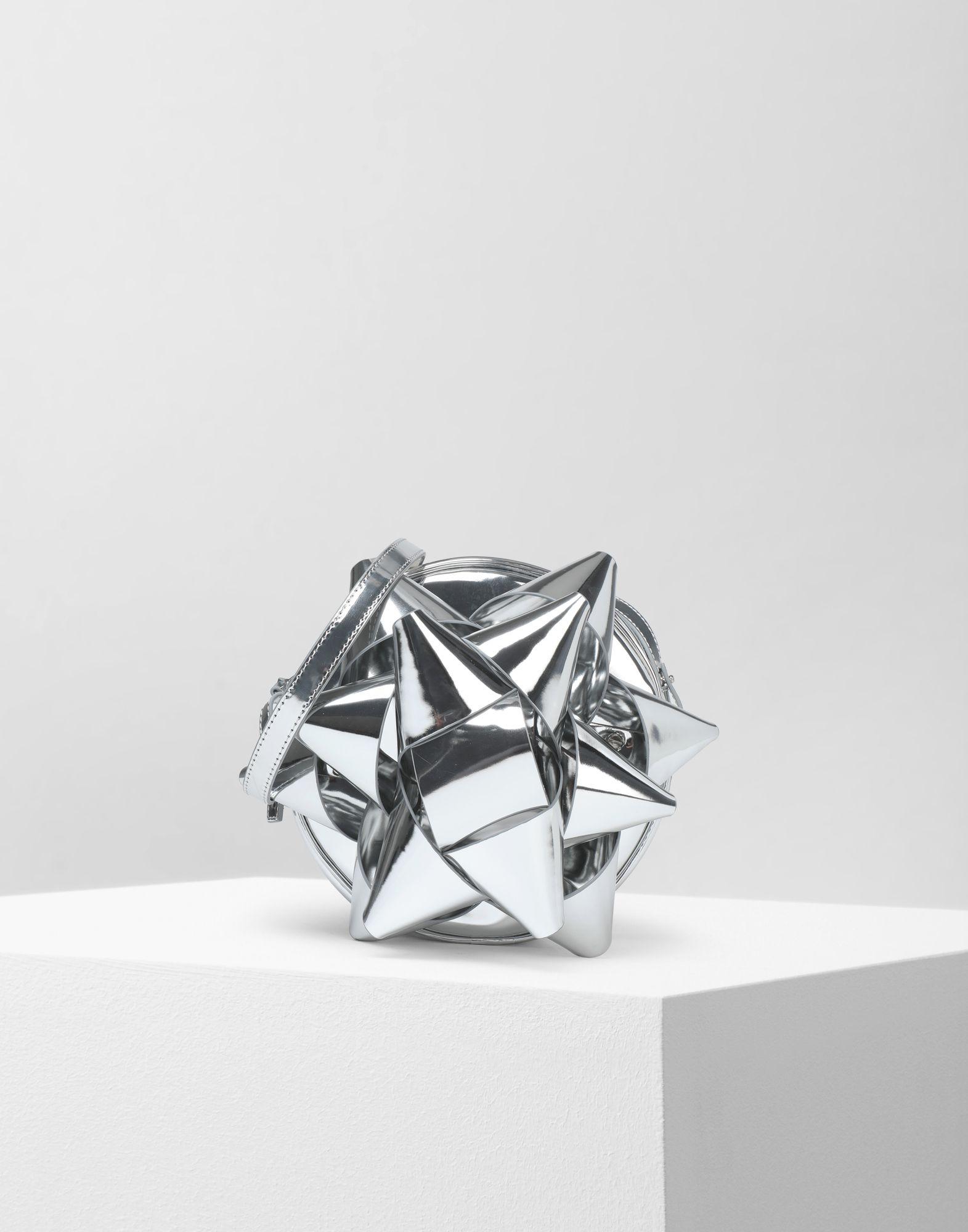 MM6 MAISON MARGIELA Metallic gift bow shoulder bag Shoulder bag Woman f