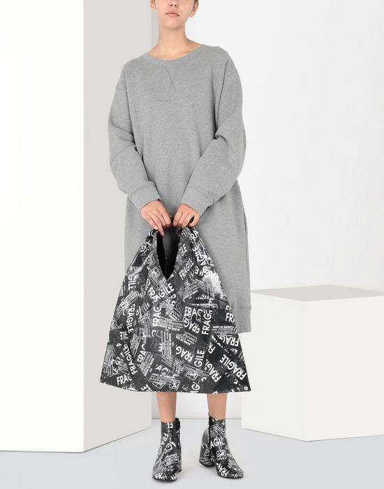 MM6 MAISON MARGIELA Fragile-print Japanese bag Handbag [*** pickupInStoreShipping_info ***] b