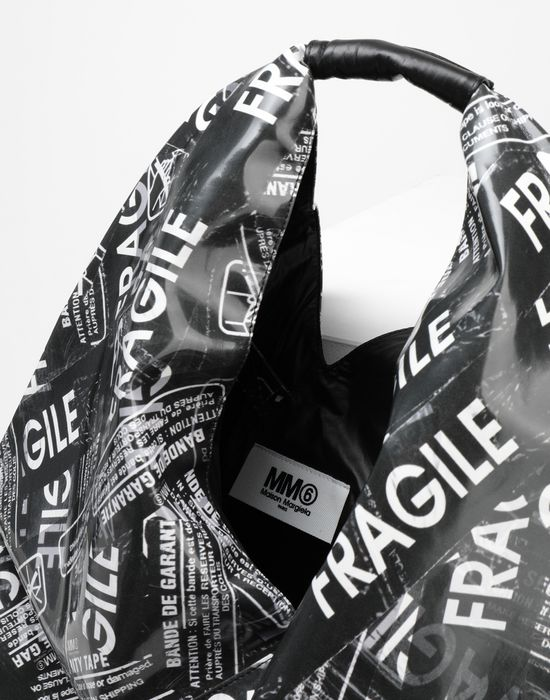 MM6 MAISON MARGIELA Fragile-print Japanese bag Handbag [*** pickupInStoreShipping_info ***] d