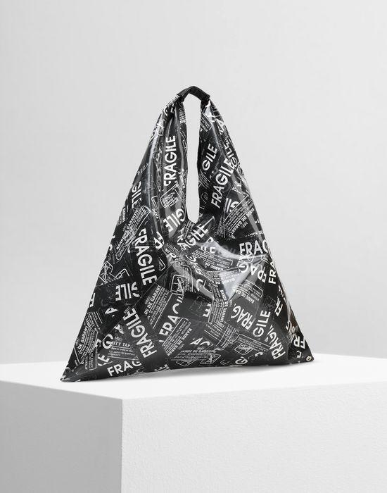 MM6 MAISON MARGIELA Fragile' print japanese tote bag Handbag Woman r