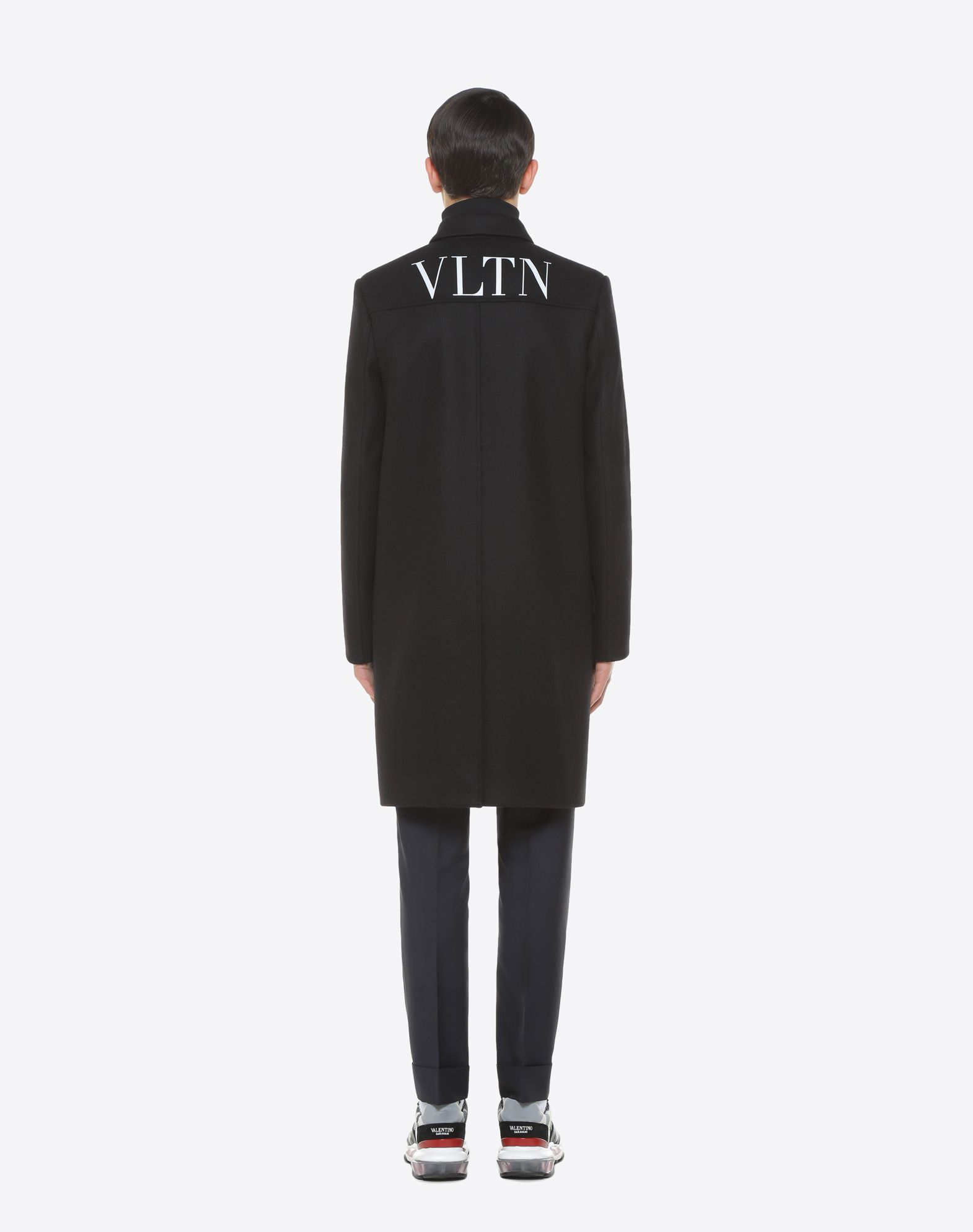 VALENTINO UOMO VLTN wool felt coat COAT U e