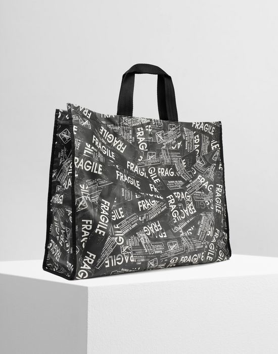 MM6 MAISON MARGIELA Fragile' PVC shopping bag Tote [*** pickupInStoreShipping_info ***] r