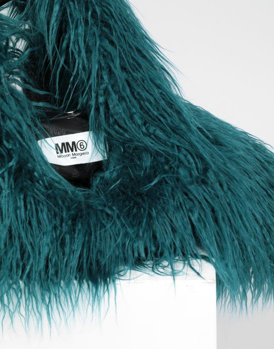 MM6 MAISON MARGIELA Faux fur Japanese tote bag Handbag [*** pickupInStoreShipping_info ***] d