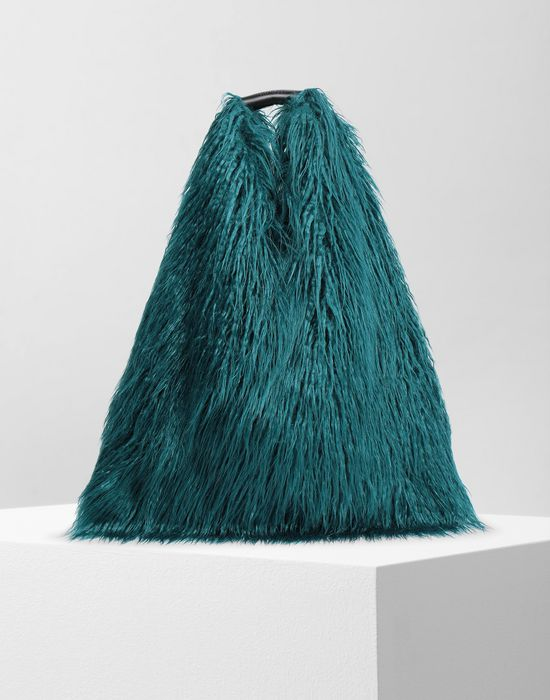 MM6 MAISON MARGIELA Faux fur Japanese tote bag Handbag [*** pickupInStoreShipping_info ***] f