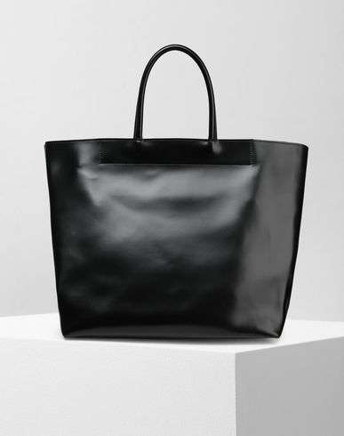MM6 MAISON MARGIELA ハンドバッグ レディース Calf leather tote bag f