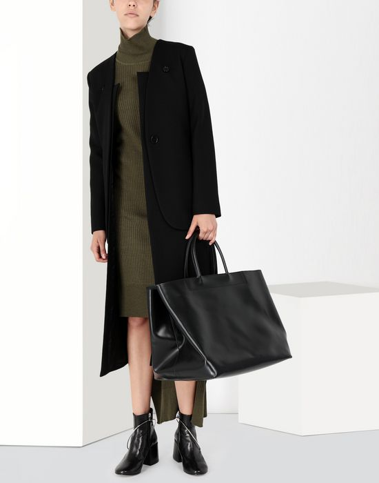 MM6 MAISON MARGIELA Calf leather tote bag Handbag [*** pickupInStoreShipping_info ***] b