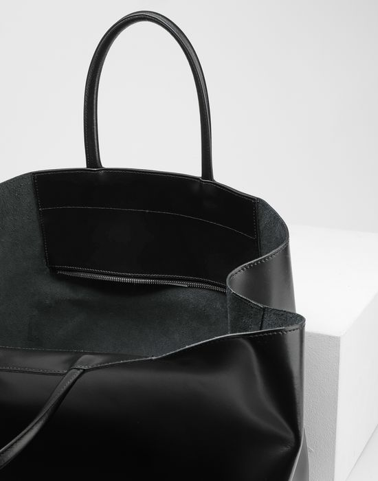 MM6 MAISON MARGIELA Calf leather tote bag Handbag [*** pickupInStoreShipping_info ***] d