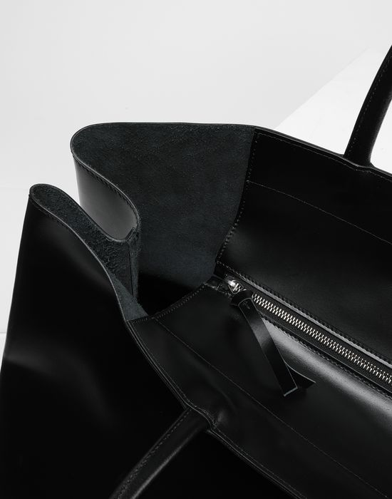 MM6 MAISON MARGIELA Calf leather tote bag Handbag [*** pickupInStoreShipping_info ***] e