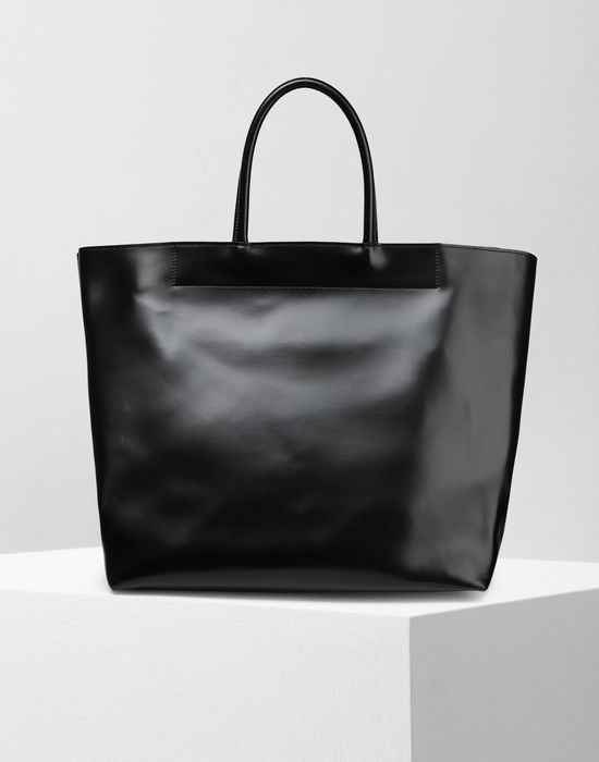 MM6 MAISON MARGIELA Calf leather tote bag Handbag [*** pickupInStoreShipping_info ***] f