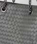 BOTTEGA VENETA MEDIUM TOTE BAG IN NEW LIGHT GREY INTRECCIATO NAPPA  Top Handle Bag Woman ep
