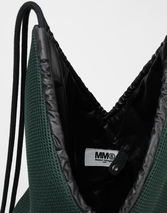 MM6 MAISON MARGIELA Japanese net mesh rucksack Backpack [*** pickupInStoreShipping_info ***] d