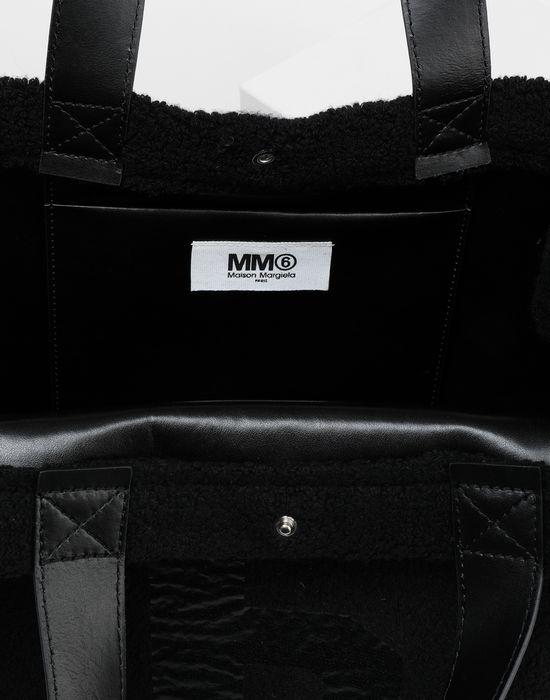 MM6 MAISON MARGIELA Teddy shopping bag Tote [*** pickupInStoreShipping_info ***] d