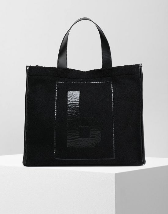 MM6 MAISON MARGIELA Teddy shopping bag Tote [*** pickupInStoreShipping_info ***] f