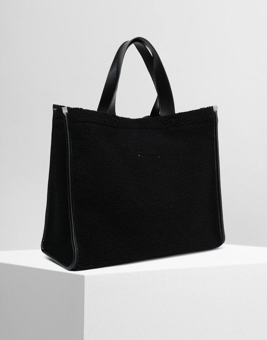MM6 MAISON MARGIELA Teddy shopping bag Tote [*** pickupInStoreShipping_info ***] r