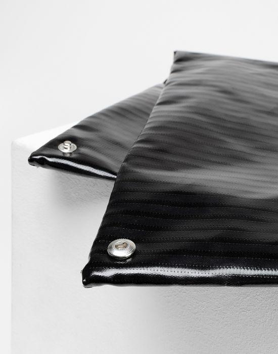 MM6 MAISON MARGIELA Japanese high-shine striped bag Handbag [*** pickupInStoreShipping_info ***] e