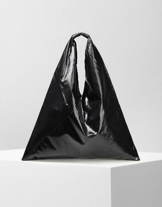 MM6 MAISON MARGIELA Japanese high-shine striped bag Handbag [*** pickupInStoreShipping_info ***] f